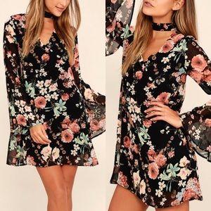 Lulu's | floral collar dress